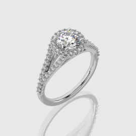 Split-Band Engagement Ring | Facets Singapore