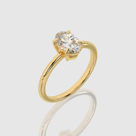 Four Prong Engagement Ring | Facets Singapore