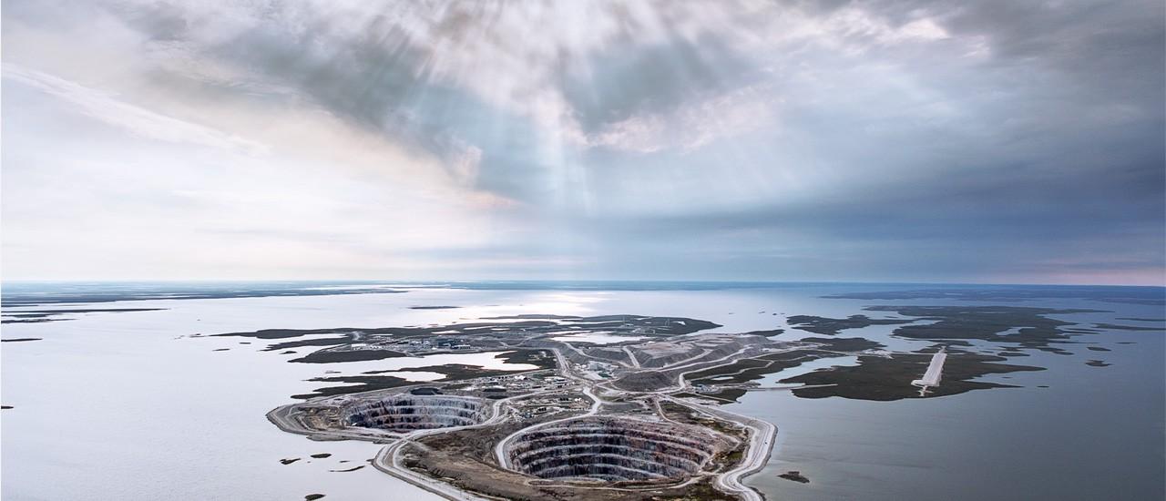 Ekati Diamond Mine Northwest Territories Canada